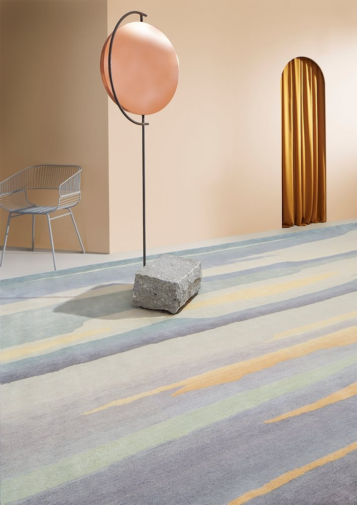 Deirdre Dyson Exclusive Carpets & Rugs – winner of the Award for Innovation in Wool Carpet or Rug – Skyscape