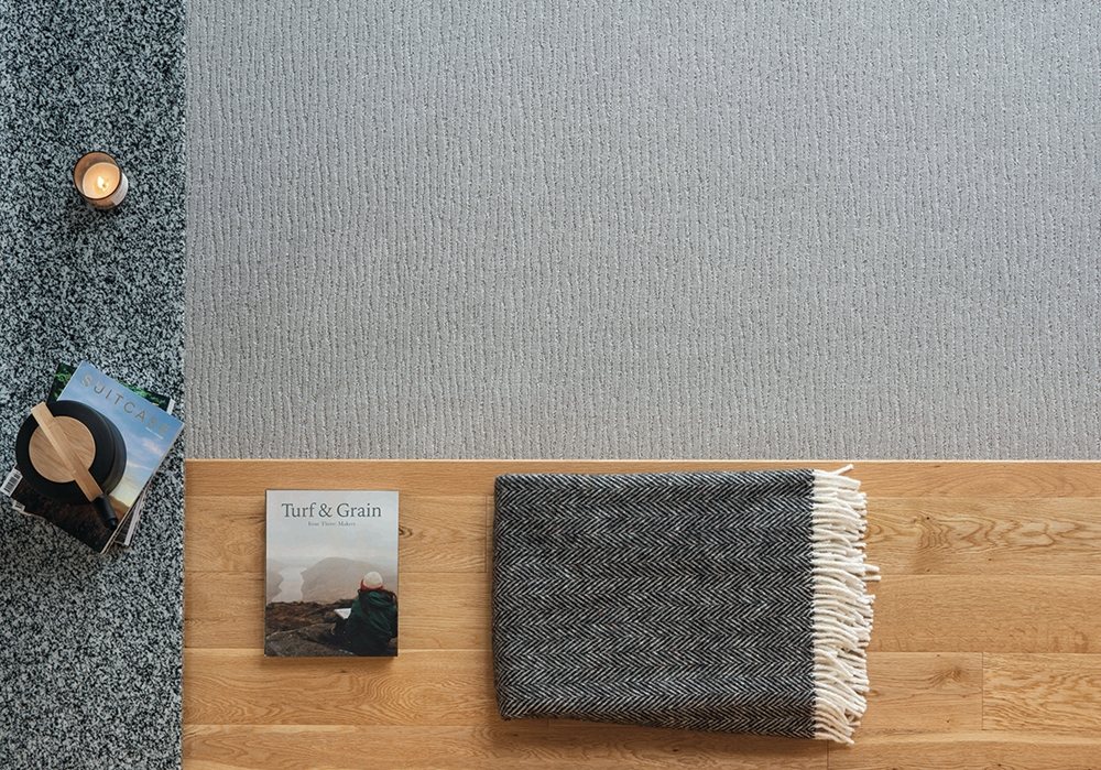 Ulster Carpets - winner of the award for Innovation in Wool Carpet or Rug - Terraen Ryg
