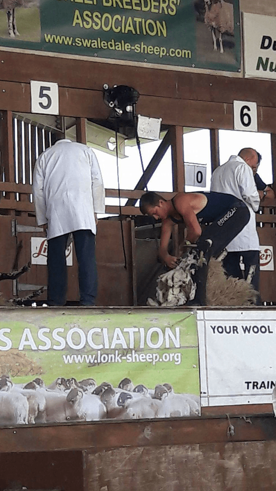 John Malseed competing at the Great Yorkshire Show