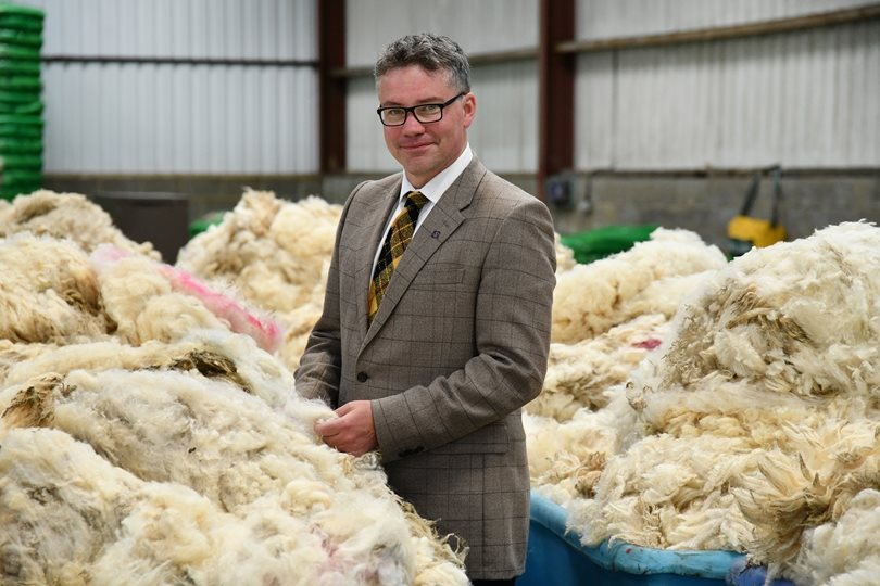 New Entrant backs British Wool support scheme