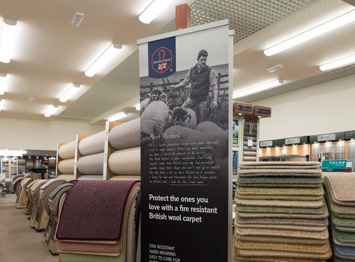 British Wool: the role of effective POS in retail environments