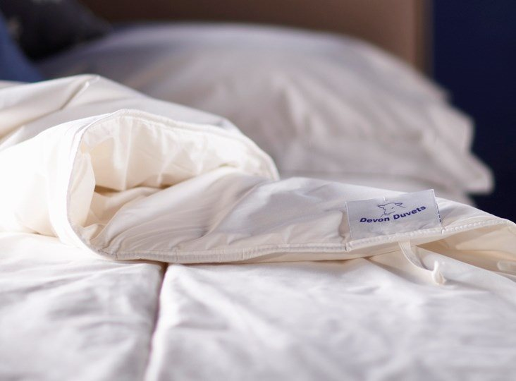 Night sweats? How to sleep better with British wool bedding