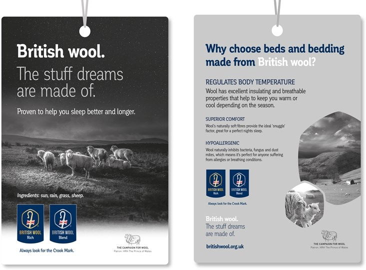 British Wool – supporting retailers with new display ideas